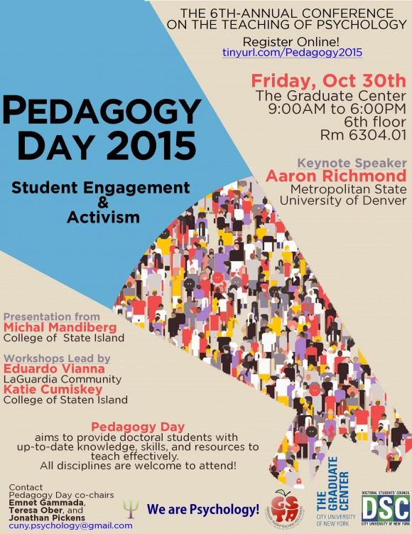 pedagogy day poster